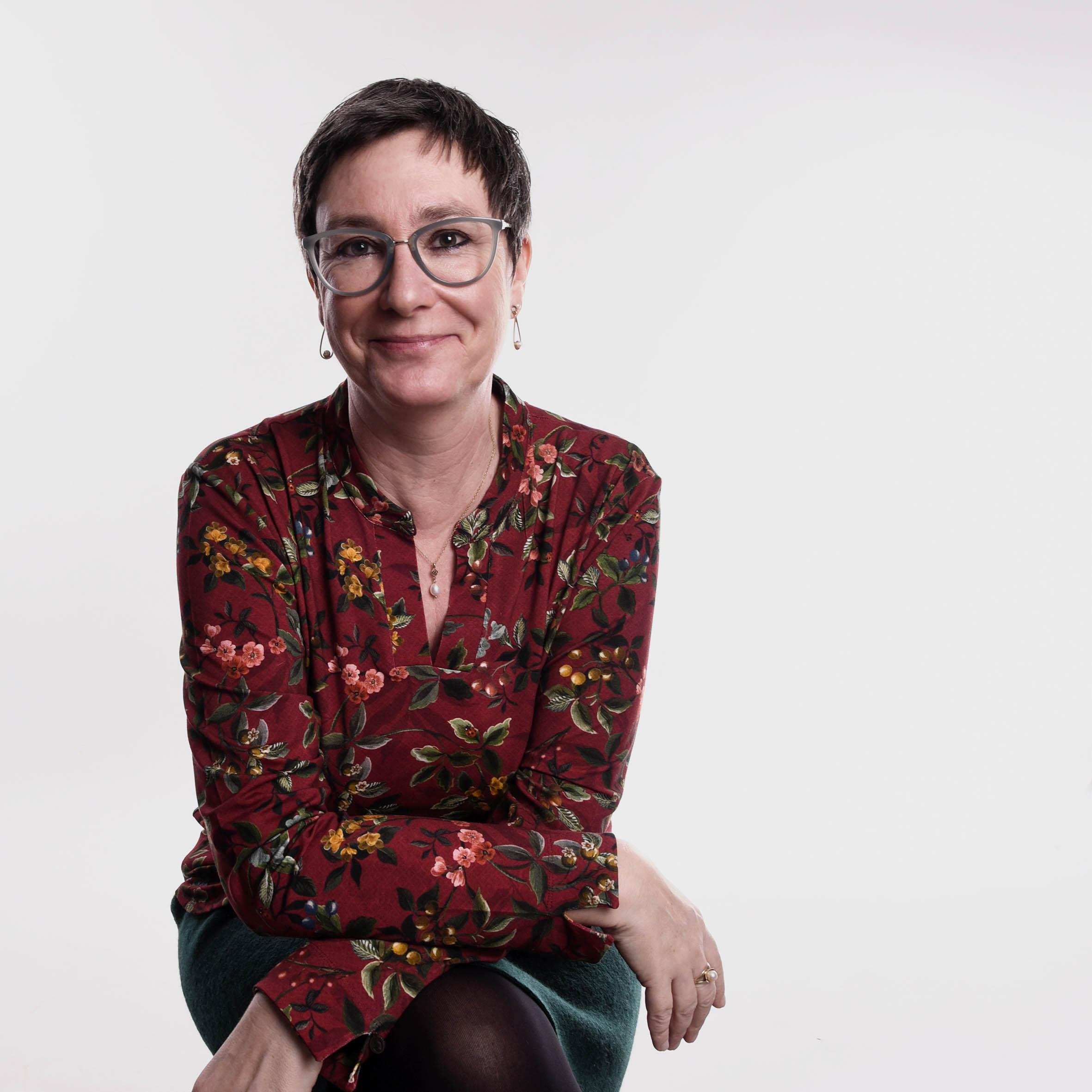 Diplom-Psycholgin und Systemische Therapeutin Andrea Schulte (Porträt)